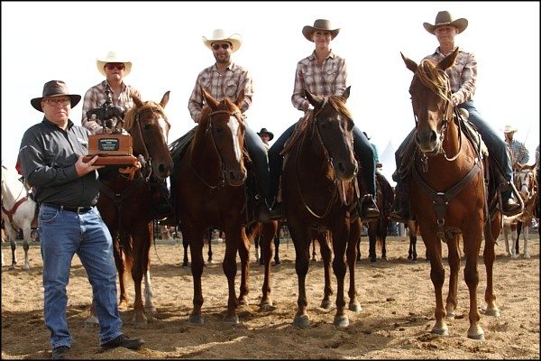 Findlater Ranch Rodeo - Guenther Ranch Team 2016 Champions